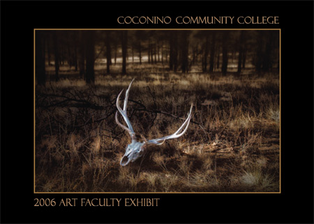 Faculty Art Show Postcard (front)