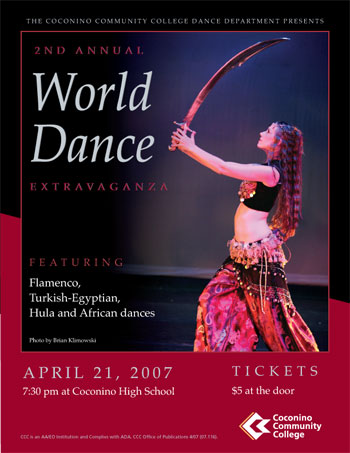 World Dance Extravaganza Poster 2007