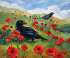Ravens and Poppies